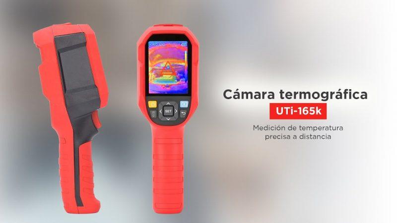 Camara termográfica uni-t165K 8